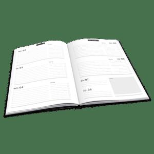 Agenda A5 21/22 Camouflage