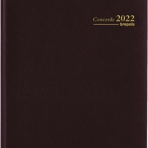 Agenda Concorde 2022 7dag/2pagina zwart