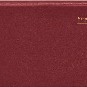 Brepols agenda Breprint Lima 6-talig, bordeaux, 2022
