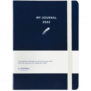 My A-Journal Jaaragenda 2022 - Donkerblauw