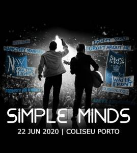 Simple Minds no Coliseu do Porto
