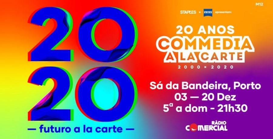 comedia-a-la-cart-2020 teatro sa da bandeira