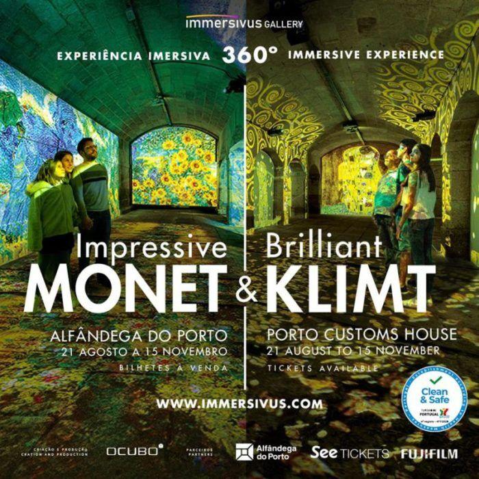 Impressive Monet & Brilliant Klimt - Immersivus Gallery Porto Experience
