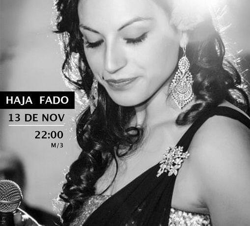 CLAUDIA MADEIRA HAJA FADO - 13 e 14 de Novembro no Teatro Sá da Bandeira