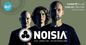Wipeout Open Air presents Noisia (Porto) Last Portugal Show no Hard Club
