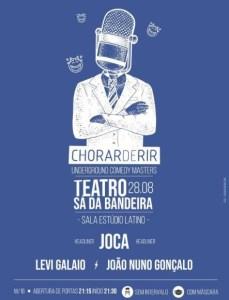 Chorar de Rir no Teatro Sá da Bandeira
