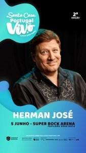 Herman José – Santa Casa Portugal ao Vivo - Super Bock Arena Pavilhão Rosa Mota