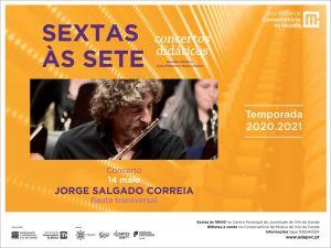 Jorge Salgado Correia - Flauta Transversal | Conservatório de Música de Vila do Conde
