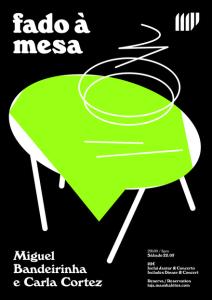 Fado à Mesa - Miguel Bandeirinha + Carla Cortez nos Maus Hábitos