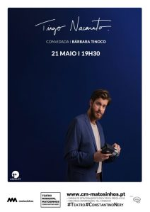 Tiago Nacarato convidada Bárbara Tinoco Teatro Municipal Constantino Nery