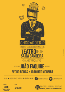 Underground Comedy Masters no Teatro Sá da Bandeira