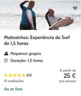 Experiencia Surf