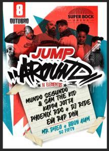 JUMP AROUND no Super Bock Arena