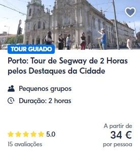 Tour de segway no Porto