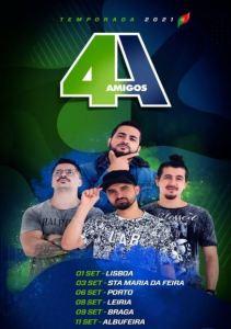 4 AMIGOS no Teatro Sá da Bandeira Porto