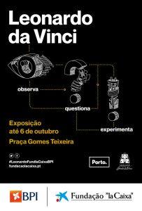 Leonardo da Vinci – Observa, Questiona e Experimenta