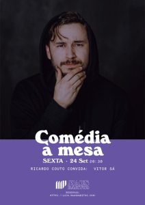 Comédia à Mesa Ricardo Couto + Vitor Sá