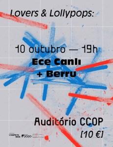 ECE CANLI + BERRU no CCOP