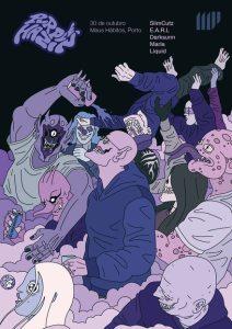Purple Hazin´ by Monster Jinx