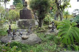 """Un """"presepe"""" che rappresenta la storia di Siddhārtha Gautama"""