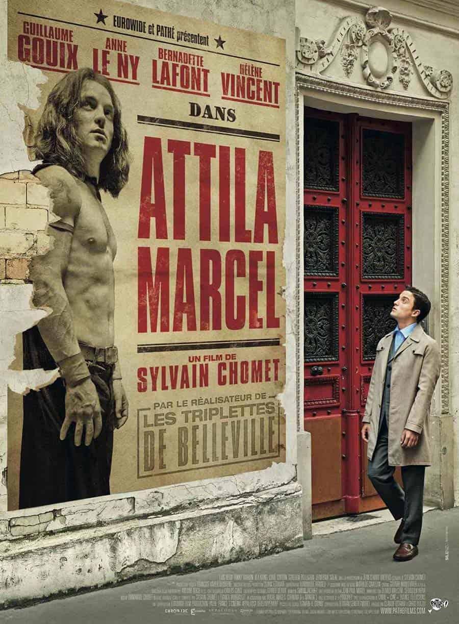 attila marcel en el ciclo de cine en version original de tierra de paso de la biblioteca de ponferrada el bierzo