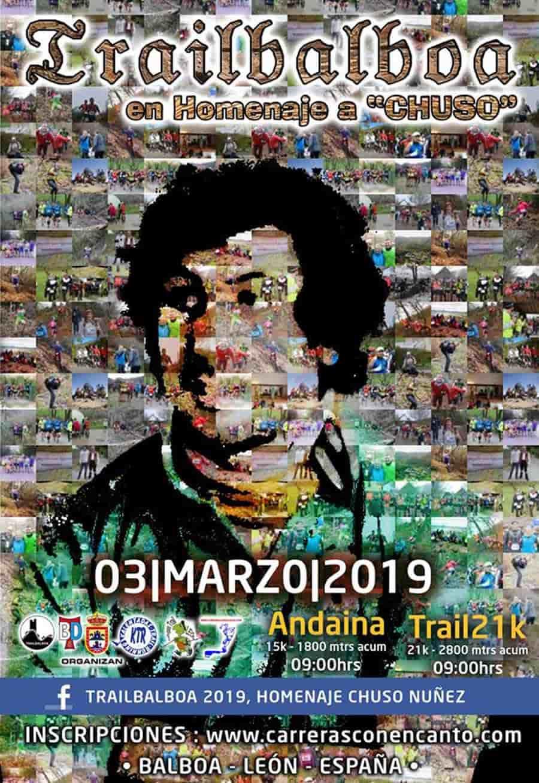 cartel trail balboa 2019 el bierzo