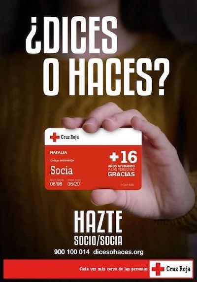 Campaña captación socios Cruz Roja