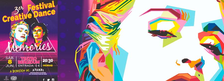 cartel festival creative dance bergidum ponferrada el bierzo