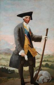 'Carlos III, cazador' (1786). Francisco de Goya