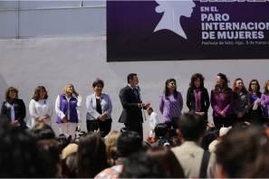 Gobierno del estado se suma al Paro Internacional por el Día de las Mujeres