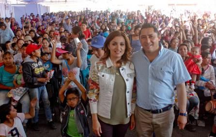 Con gran afluencia festejan el Día del Niño en Mineral de la Reforma1