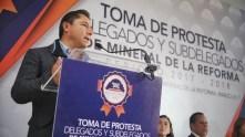 Segundo bloque de delegados rinden protesta en Mineral de la Reforma 1