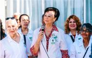 Voluntariado del IMSS en Hidalgo forestó áreas verdes de la Casa de la Tercera Edad3