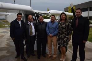 """Presentan oficialmente la aeronave """"HEDWIG-XX1"""" en la UPMH1"""