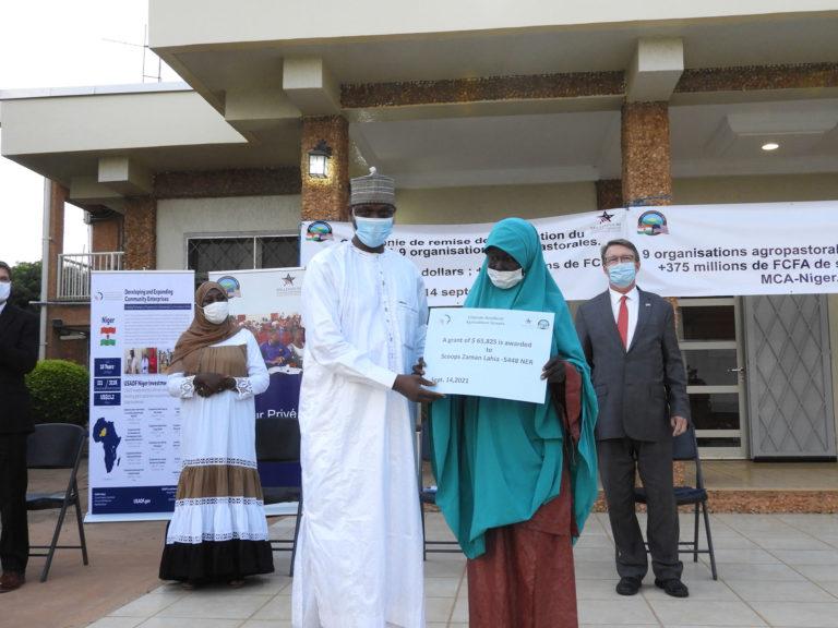Le MCA-Niger octroie 375 millions de FCFA à 9 organisations agro-pastorales