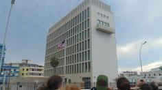 Estados Unidos reabrió su embajada en Cuba después de 54 años. (MVB)