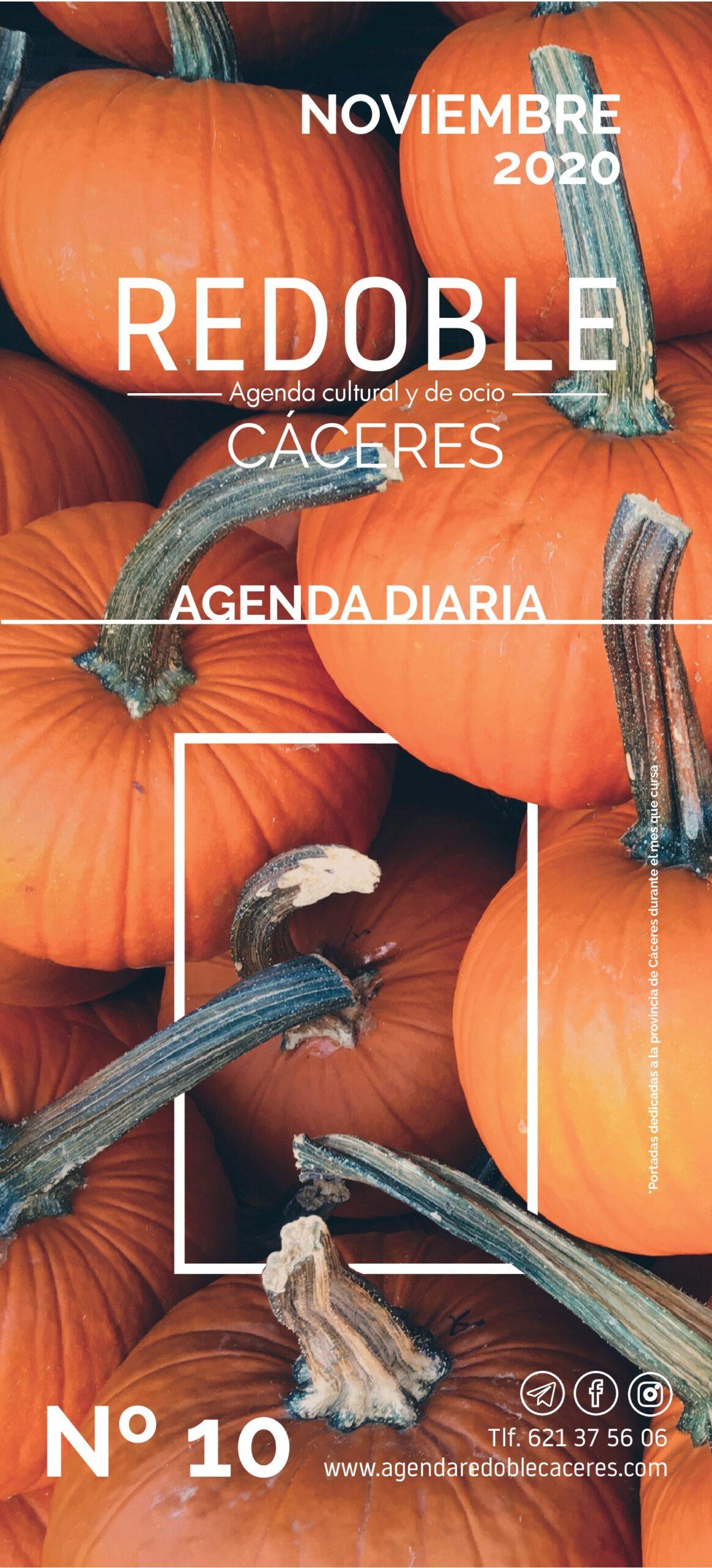 Agenda Redoble Cáceres Noviembre