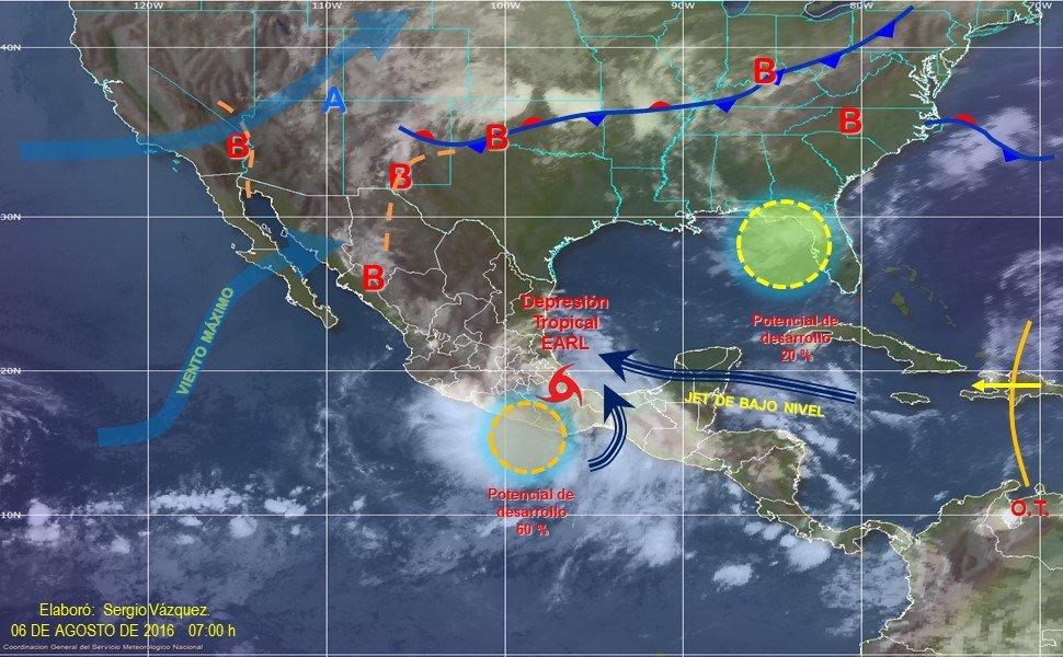 Lluvias, lluvias y más lluvias para SLP