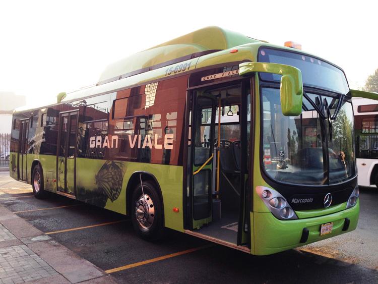 Nuevo sistema de autobuses
