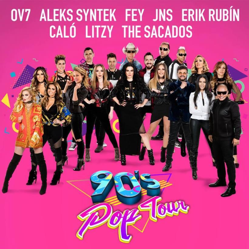 90's Pop Tour en San Luis Potosí