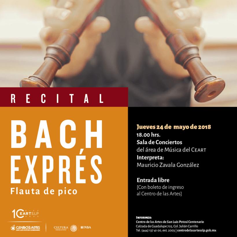 CEART Recital Bach Expres