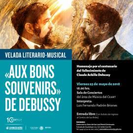 Velada Literario-musical aux bons souvenirs debussy