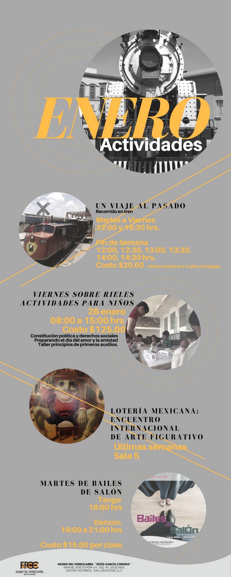 Enero Museo Ferrocarril Agenda San Luis