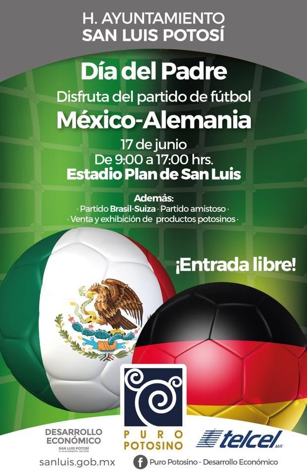 Día del padre México Alemania mundial SLP