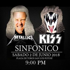 Sinfonico de Metallica & Kiss con la Orquesta Internacional @ Plaza de Toros El Paseo | San Luis Potosí | San Luis Potosí | México