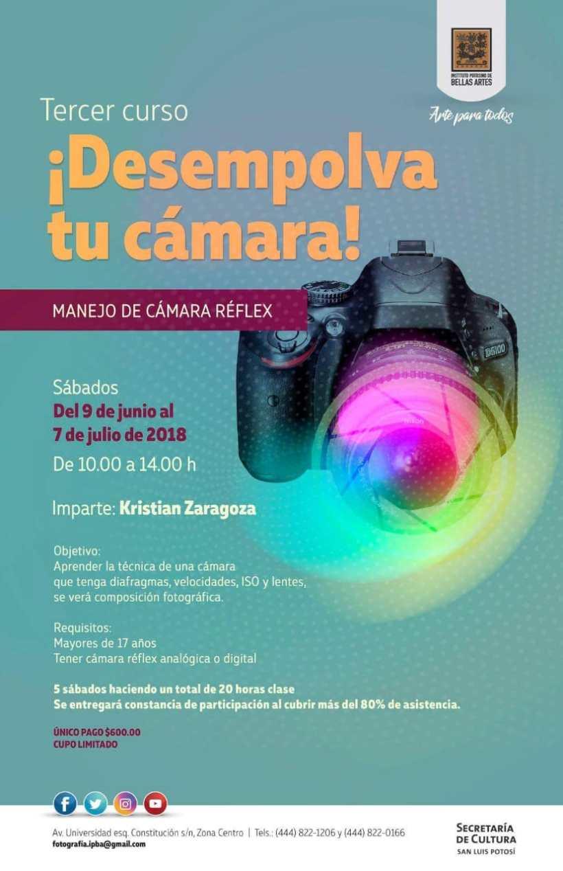 Cursos de fotografia SLP