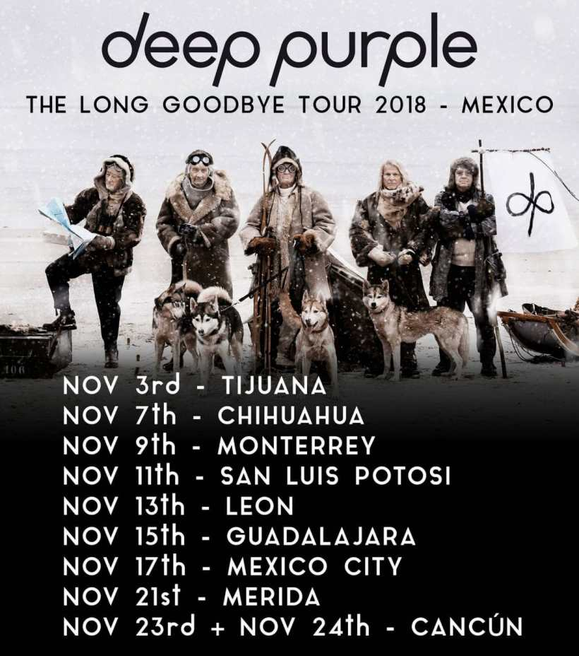 11 Noviembre Deep purple