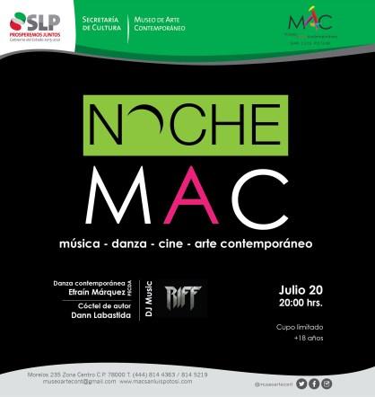 20 Julio Noche MAC
