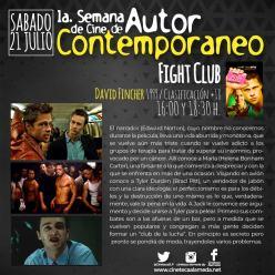 21 Julio Fight Club - cineteca