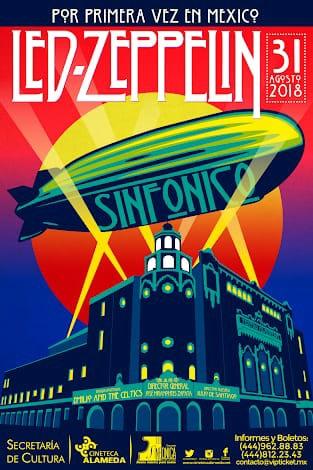 31 Agosto Sinfonico led zeppelin